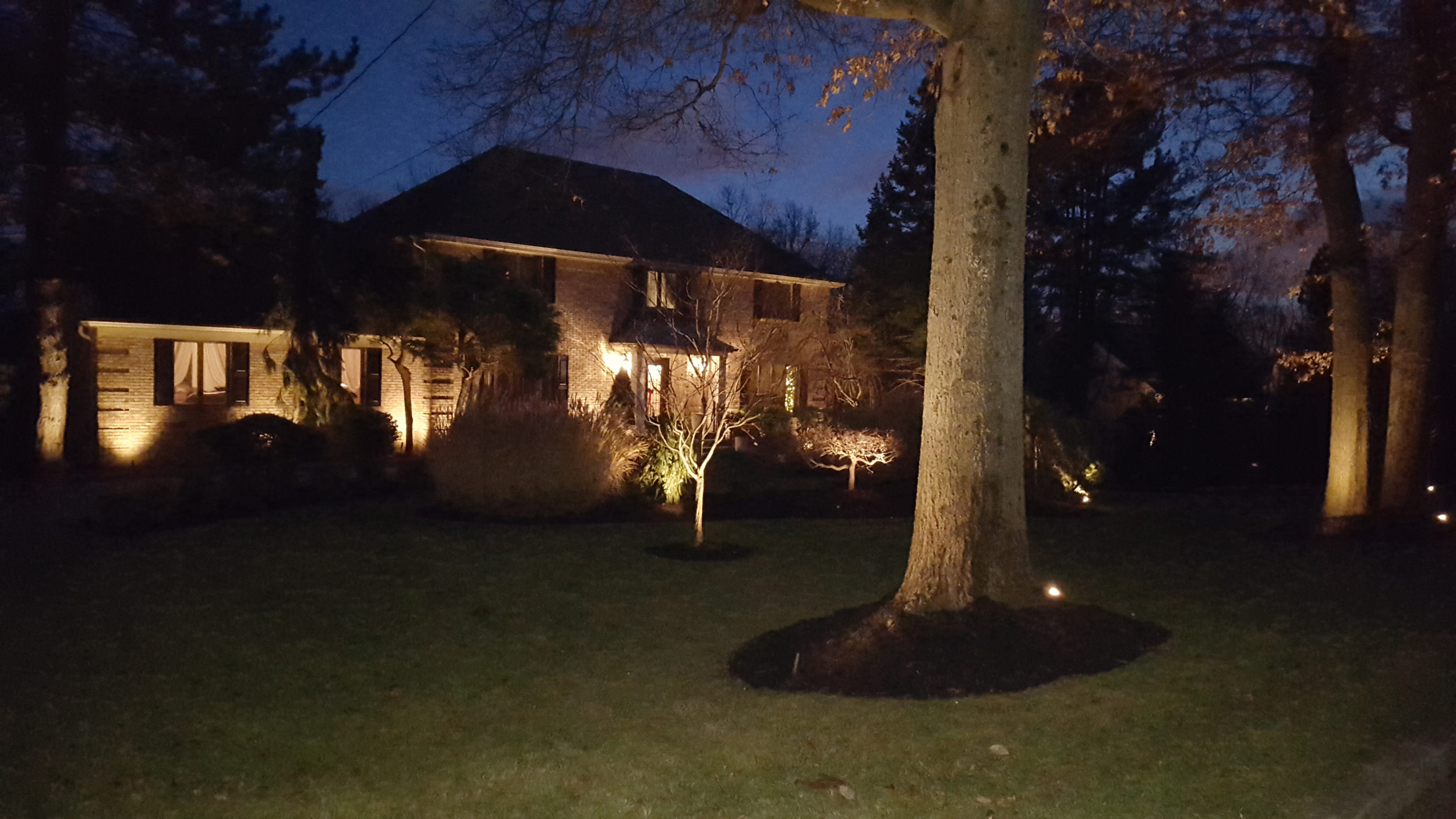 Landscape lighting in Bergen County NJ