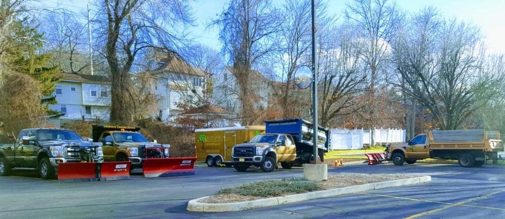 Onorato Snow removal Bergen County Trucks