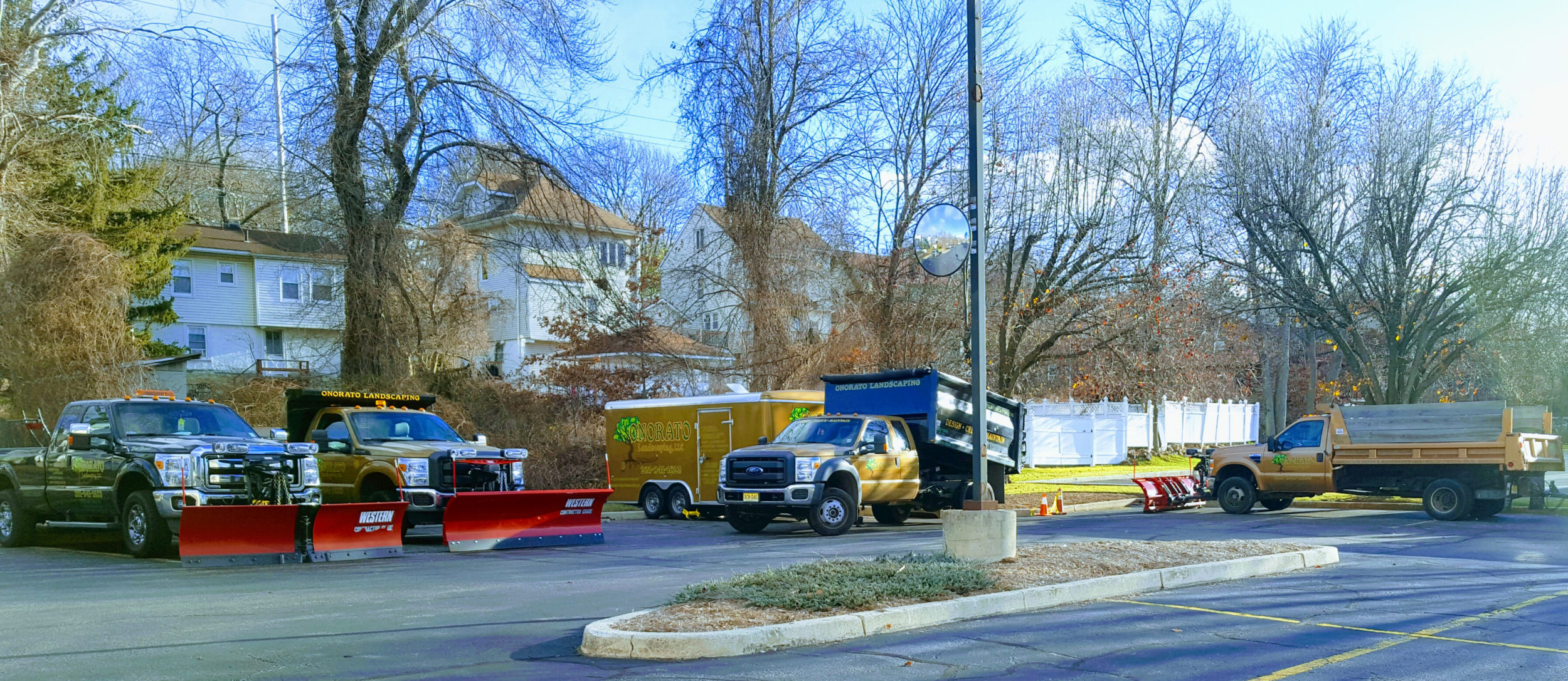 Onorato Snow removal Bergen County Trucks