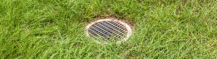 yard drain in Bergen County