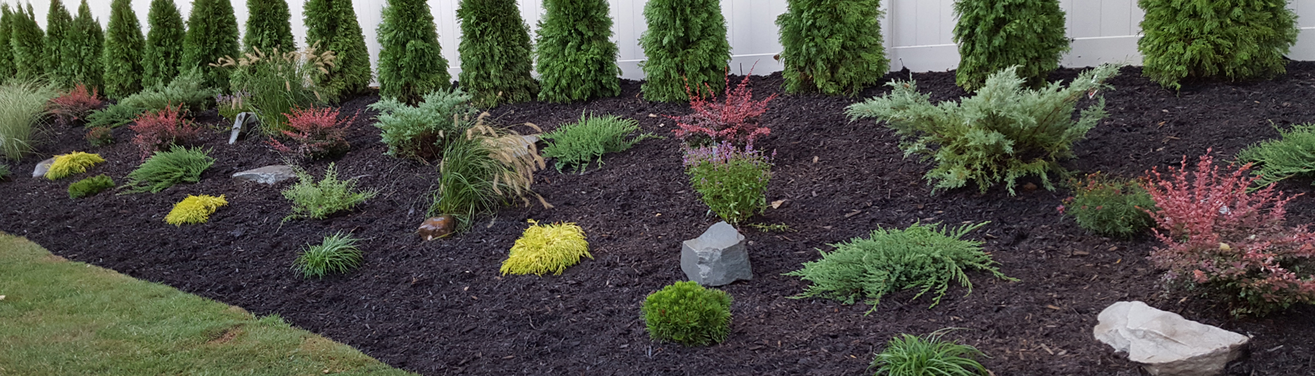 beautifuly desiged landscaping in Bergen County NJ