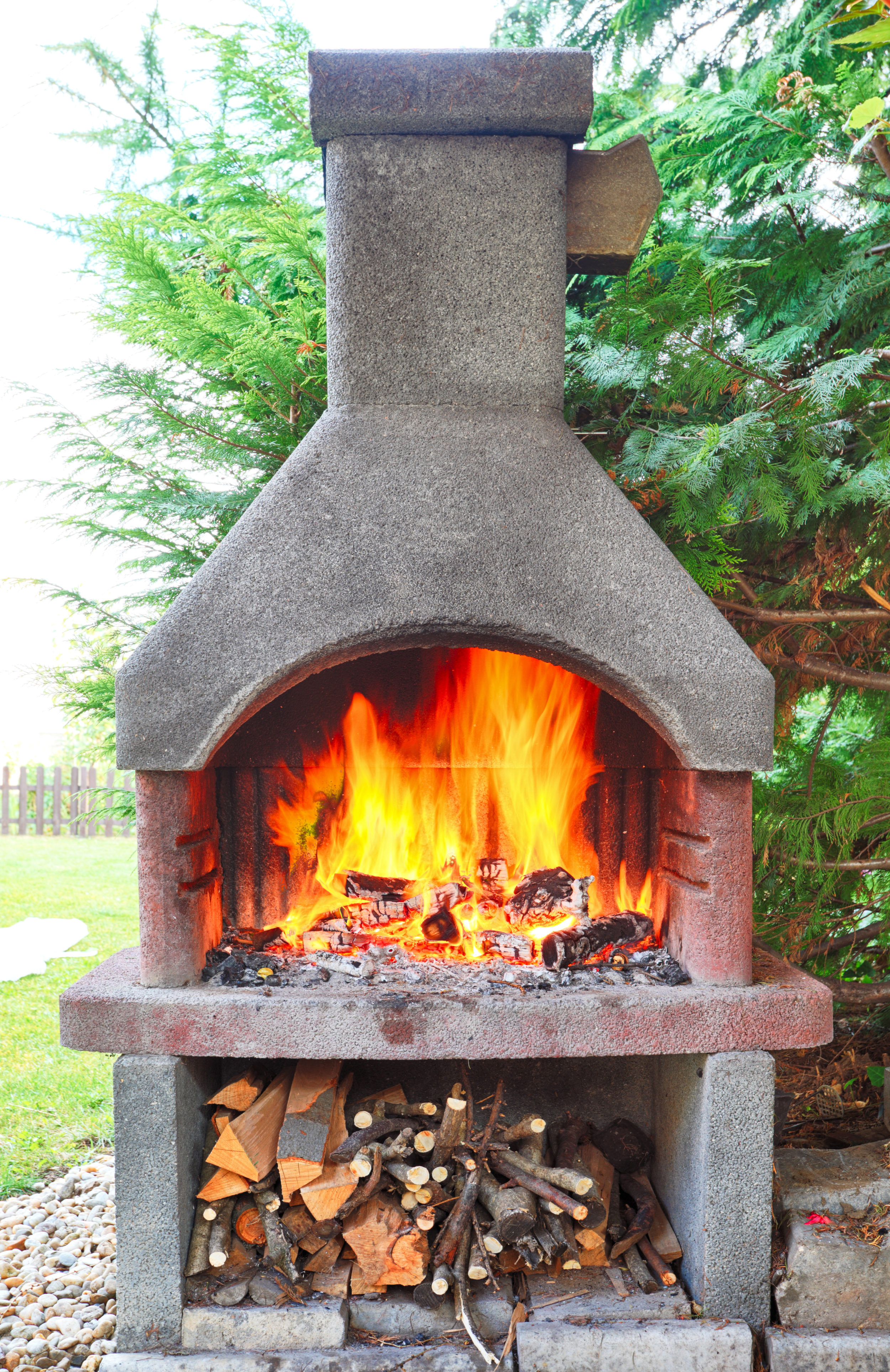 outdoor fireplaces for Bergen county