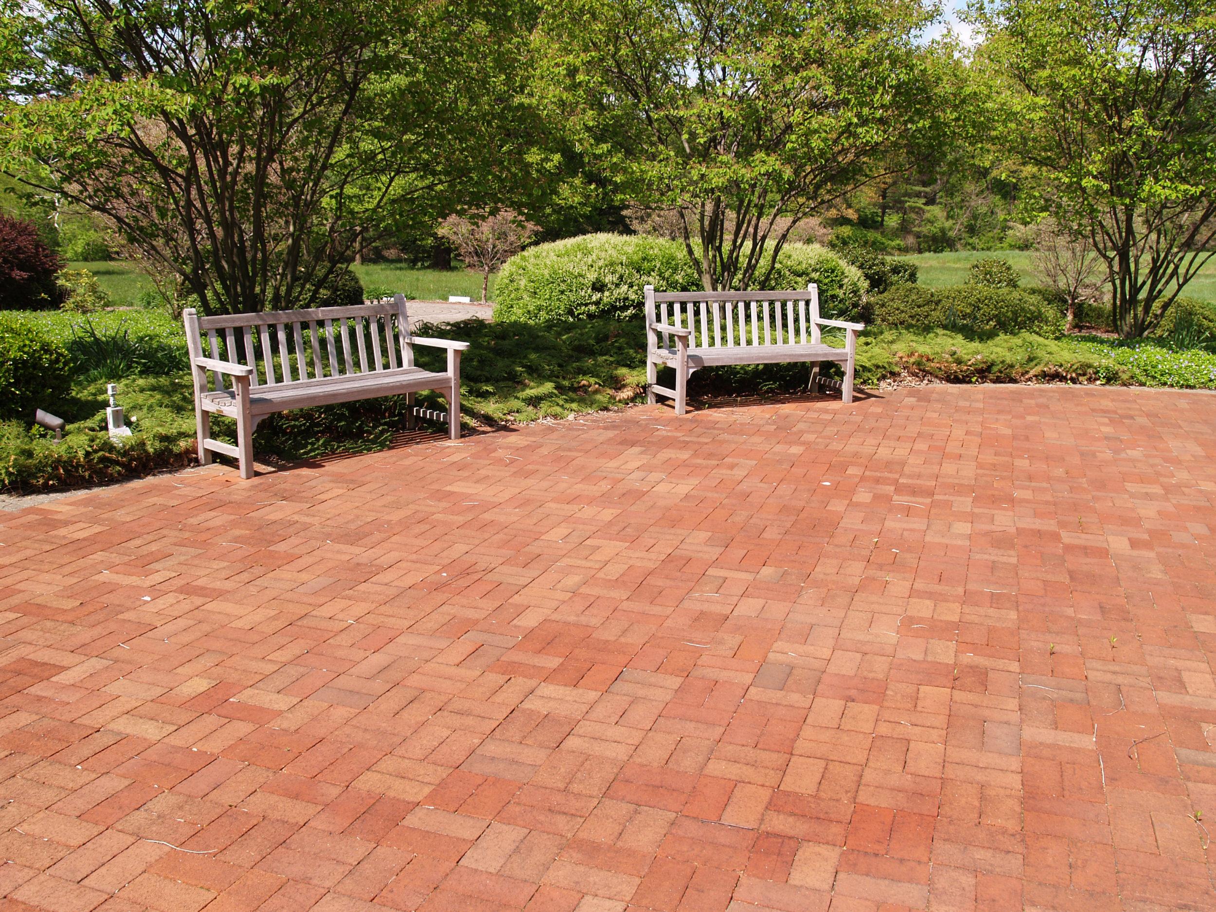 patio made of brick